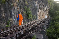 VAN DE DE DOODSspoorweg VAN THAILAND KANCHANABURI DE RIVIER KWAI Royalty-vrije Stock Fotografie
