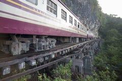 VAN DE DE DOODSspoorweg VAN THAILAND KANCHANABURI DE RIVIER KWAI Royalty-vrije Stock Foto