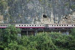 VAN DE DE DOODSspoorweg VAN THAILAND KANCHANABURI DE RIVIER KWAI Royalty-vrije Stock Afbeelding