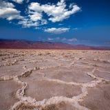 Van de de Doodsvallei van het Badwaterbassin de zoute vormingen Royalty-vrije Stock Afbeeldingen