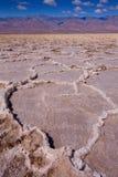 Van de de Doodsvallei van het Badwaterbassin de zoute vormingen Royalty-vrije Stock Afbeelding