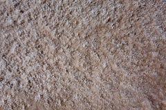Van de de Doodsvallei van het Badwaterbassin zoute de texturenmacro Stock Afbeelding