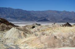 Van de de Doodsvallei van het Zabriskiepunt het Nationale Park, CA, de V.S. Stock Foto's