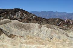 Van de de Doodsvallei van het Zabriskiepunt het Nationale Park, CA, de V.S. Royalty-vrije Stock Foto