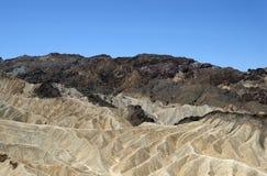 Van de de Doodsvallei van het Zabriskiepunt het Nationale Park, CA, de V.S. Royalty-vrije Stock Fotografie