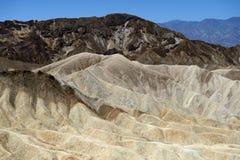 Van de de Doodsvallei van het Zabriskiepunt het Nationale Park, CA, de V.S. Royalty-vrije Stock Foto's