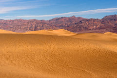 Van de de Doodsvallei van zandduinen het Nationale Park Stock Afbeeldingen