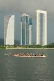 Van de de draakboot van Maleisië het festival 2011 Royalty-vrije Stock Fotografie