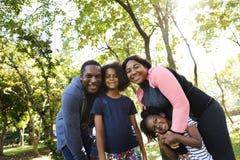 Van de de Familie in openlucht Vitaliteit van de oefeningsactiviteit het Gezonde Concept royalty-vrije stock fotografie