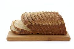 Van de de grond geheel tarwe van de steen het broodbrood Stock Fotografie