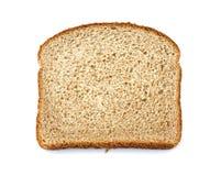 Van de de grond gehele tarwe van de steen het broodplak Stock Fotografie