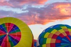 Van de de Hete Luchtballon van Albuquerque de Fiesta 2016 Stock Afbeeldingen