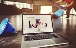 Van de de Hobbyvaardigheid van het Breakdancingstalent de Dansconcept royalty-vrije stock afbeeldingen