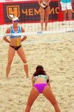 2015 van de de Klierslag van Moskou het Volleyball van het de Toernooienstrand Royalty-vrije Stock Fotografie
