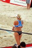 2015 van de de Klierslag van Moskou het Volleyball van het de Toernooienstrand Royalty-vrije Stock Foto's