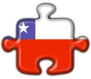 Van de de knoopvlag van Chili het raadselvorm Stock Afbeelding