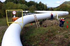 Van de de oefeningswerknemer van de noodsituatiereactie de post van de het gascompressor in C Royalty-vrije Stock Afbeeldingen