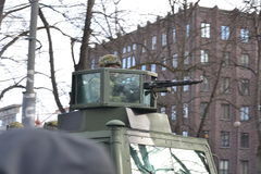 Van de de Onafhankelijkheidsdag van Estland de Parade 2017 Royalty-vrije Stock Afbeelding