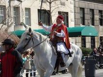 Van de de Onafhankelijkheidsdag van NYC Grieks de Parade 2016 Deel 2 72 Stock Foto