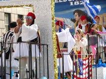 Van de de Onafhankelijkheidsdag van NYC Grieks de Parade 2016 Deel 2 73 Stock Afbeelding
