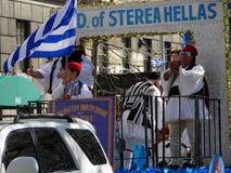Van de de Onafhankelijkheidsdag van NYC Grieks de Parade 2016 Deel 2 74 Stock Afbeeldingen