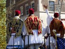 Van de de Onafhankelijkheidsdag van NYC Grieks de Parade 2016 Deel 2 75 Royalty-vrije Stock Afbeelding