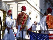 Van de de Onafhankelijkheidsdag van NYC Grieks de Parade 2016 Deel 2 76 Stock Foto's