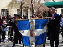 Van de de Onafhankelijkheidsdag van NYC Grieks de Parade 2016 Deel 2 80 Royalty-vrije Stock Foto