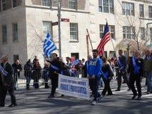 Van de de Onafhankelijkheidsdag van NYC Grieks de Parade 2016 Deel 2 82 Stock Foto