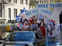 Van de de Onafhankelijkheidsdag van NYC Grieks de Parade 2016 Deel 2 84 Royalty-vrije Stock Afbeelding