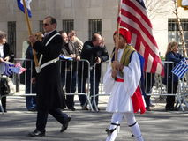 Van de de Onafhankelijkheidsdag van NYC Grieks de Parade 2016 Deel 2 94 Stock Foto's