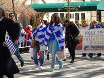 Van de de Onafhankelijkheidsdag van NYC Grieks de Parade 2016 Deel 2 99 Royalty-vrije Stock Foto's