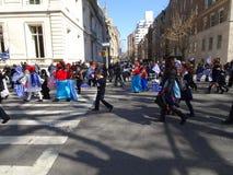 Van de de Onafhankelijkheidsdag van NYC Grieks de Parade 2016 Deel 3 6 Stock Fotografie