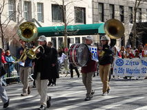 Van de de Onafhankelijkheidsdag van NYC Grieks de Parade 2016 Deel 4 17 Stock Foto's