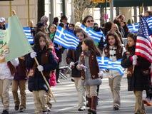 Van de de Onafhankelijkheidsdag van NYC Grieks de Parade 2016 Deel 4 41 Stock Fotografie