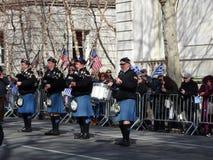 Van de de Onafhankelijkheidsdag van NYC Grieks de Parade 2016 Deel 4 70 Royalty-vrije Stock Foto's