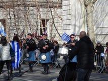 Van de de Onafhankelijkheidsdag van NYC Grieks de Parade 2016 Deel 4 71 Stock Foto