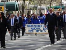 Van de de Onafhankelijkheidsdag van NYC Grieks de Parade 2016 Deel 4 72 Royalty-vrije Stock Foto