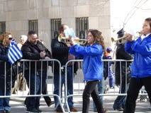 Van de de Onafhankelijkheidsdag van NYC Grieks de Parade 2016 Deel 4 81 Stock Foto