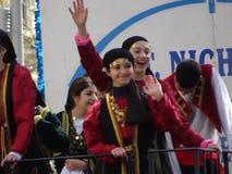 Van de de Onafhankelijkheidsdag van NYC Grieks de Parade 2016 Deel 5 2 Stock Fotografie