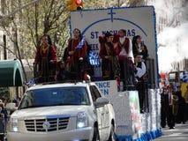 Van de de Onafhankelijkheidsdag van NYC Grieks de Parade 2016 Deel 5 3 Royalty-vrije Stock Foto