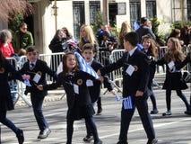 Van de de Onafhankelijkheidsdag van NYC Grieks de Parade 2016 Deel 5 68 Royalty-vrije Stock Afbeelding