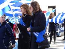 Van de de Onafhankelijkheidsdag van NYC Grieks de Parade 2016 Deel 5 77 Royalty-vrije Stock Afbeeldingen