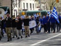Van de de Onafhankelijkheidsdag van NYC Grieks de Parade 2016 Deel 5 79 Stock Afbeelding