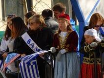 Van de de Onafhankelijkheidsdag van NYC Grieks de Parade 2016 Deel 5 99 Royalty-vrije Stock Foto's