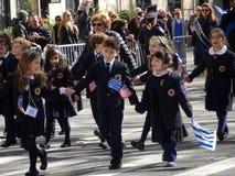 Van de de Onafhankelijkheidsdag van NYC Grieks de Parade 2016 Deel 6 3 Royalty-vrije Stock Fotografie