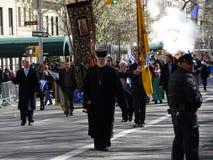 Van de de Onafhankelijkheidsdag van NYC Grieks de Parade 2016 Deel 6 4 Royalty-vrije Stock Foto's