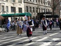 Van de de Onafhankelijkheidsdag van NYC Grieks de Parade 2016 Deel 6 5 Royalty-vrije Stock Afbeeldingen