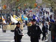 Van de de Onafhankelijkheidsdag van NYC Grieks de Parade 2016 Deel 6 11 Stock Foto