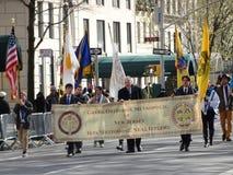 Van de de Onafhankelijkheidsdag van NYC Grieks de Parade 2016 Deel 6 21 Royalty-vrije Stock Afbeeldingen